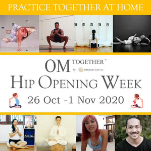 [Zoom] MODERN YOGA MOVEMENT -Hip Opening & Mobilization- with Miles Maeda (75 min) at 9am Fri on 30 Oct 2020 (GMT+8)