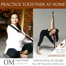 Load image into Gallery viewer, STICK YOGA WEEK UNLIMITED PASS (9-15 Nov 2020) - up to 5 classes