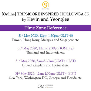 [Online] TRIPSICORE INSPIRED HOLLOWBACK by Kevin and Yeonglee (90 min) at 12pm on 31 May 2020 -completed
