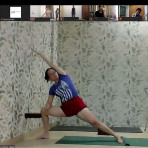 [Zoom] HIP OPENING PRACTICE by Mariana Sin (50 min) at 6.30pm Thu on 3 Sep 2020 - completed
