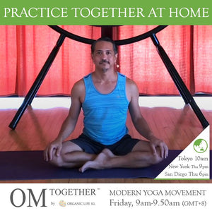[Zoom] Modern Yoga Movement with Miles Maeda (50 min) at 9am Fri on 23 Oct 2020 -completed