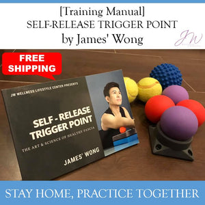 "[Free Shipping] Training Manual ""SELF-RELEASE TRIGGER POINT by James' Wong"""