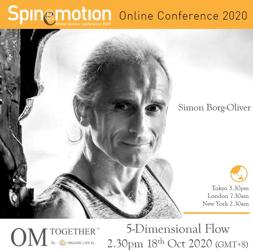 [Free talk] 5 Dimensional Flow by Simon Borg-Oliver (90 min) at 2.30pm Sun on 18 Oct 2020 -completed