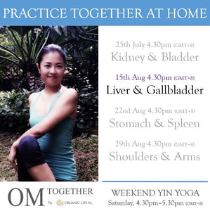 [Zoom] WEEKEND YIN YOGA with THEME by Asako (60 min) at 4.30pm Sat on 15 Aug 2020 -completed