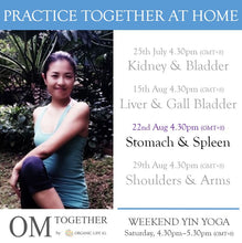 Load image into Gallery viewer, [Zoom] WEEKEND YIN YOGA with THEME by Asako (60 min) at 4.30pm Sat on 22 Aug 2020 -completed