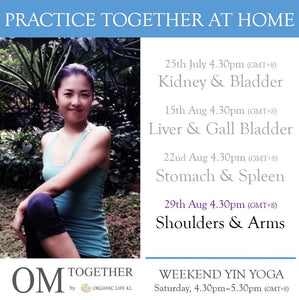 [Zoom] WEEKEND YIN YOGA with THEME by Asako (60 min) at 4.30pm Sat on 29 Aug 2020 -completed