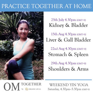[Online] WEEKEND YIN YOGA with THEME by Asako (60 min) at 4.30pm Sat on 25 July 2020 -completed