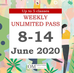 WEEKLY PASS (8-14 June 2020) -completed