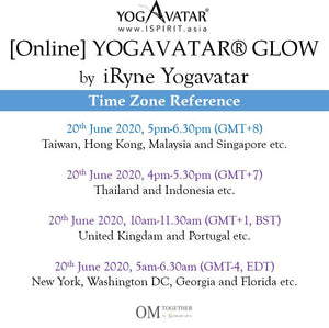 [Online] YOGAVATAR® GLOW by iRyne (75 min) at 5pm on 20 June 2020 -completed