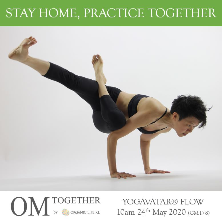 [Online] YOGAVATAR® FLOW by iRyne (60 min) at 10am on 24 May 2020 (GMT+8)