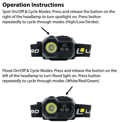LUXPRO LP347V2 Operation Instructions