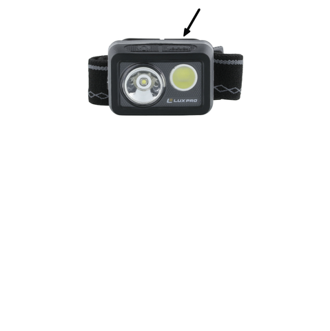 LUXPRO LP725 Headlamp Operation Instructions