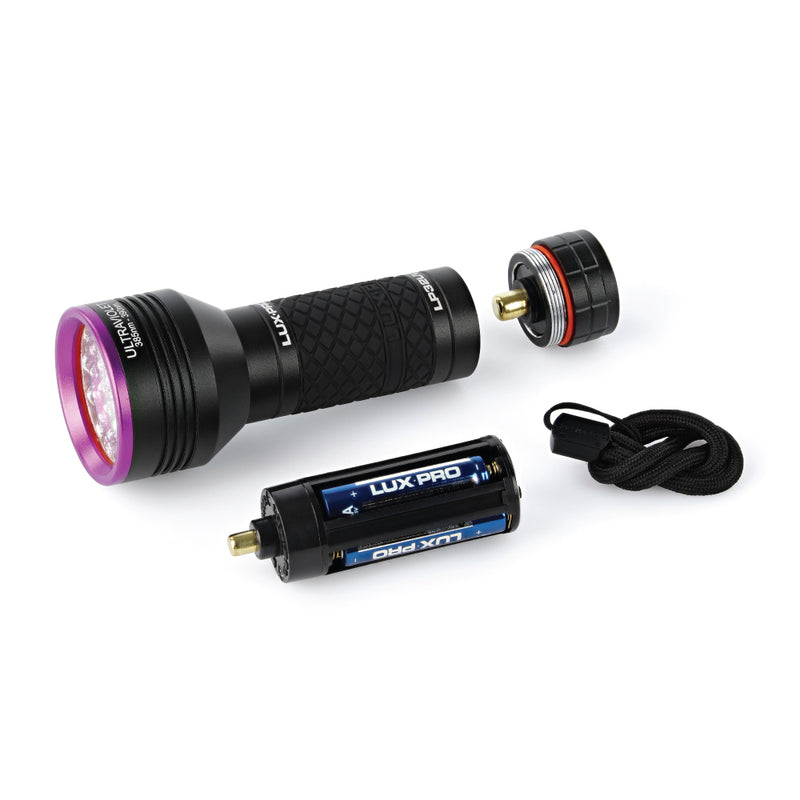 Ultra Violet Bright Flashlight with Lanyard