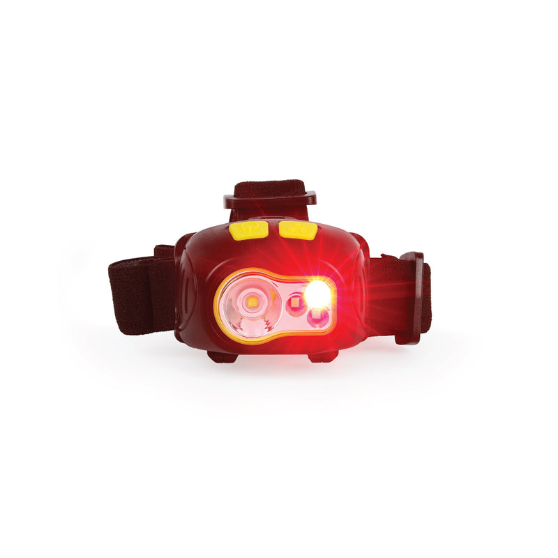 Bright 300 Lumen Multi-color LED Headlamp