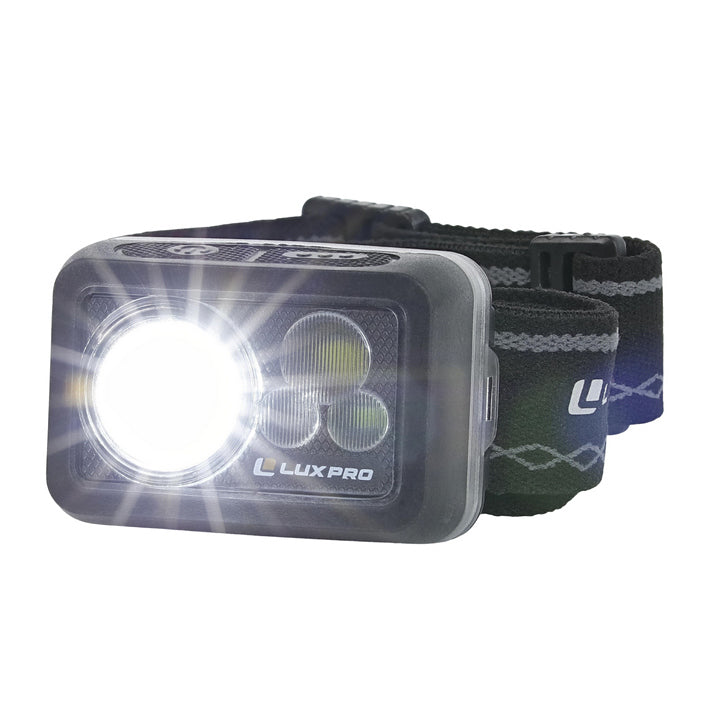 PACK740 Compact Waterproof Multi-color Headlamp