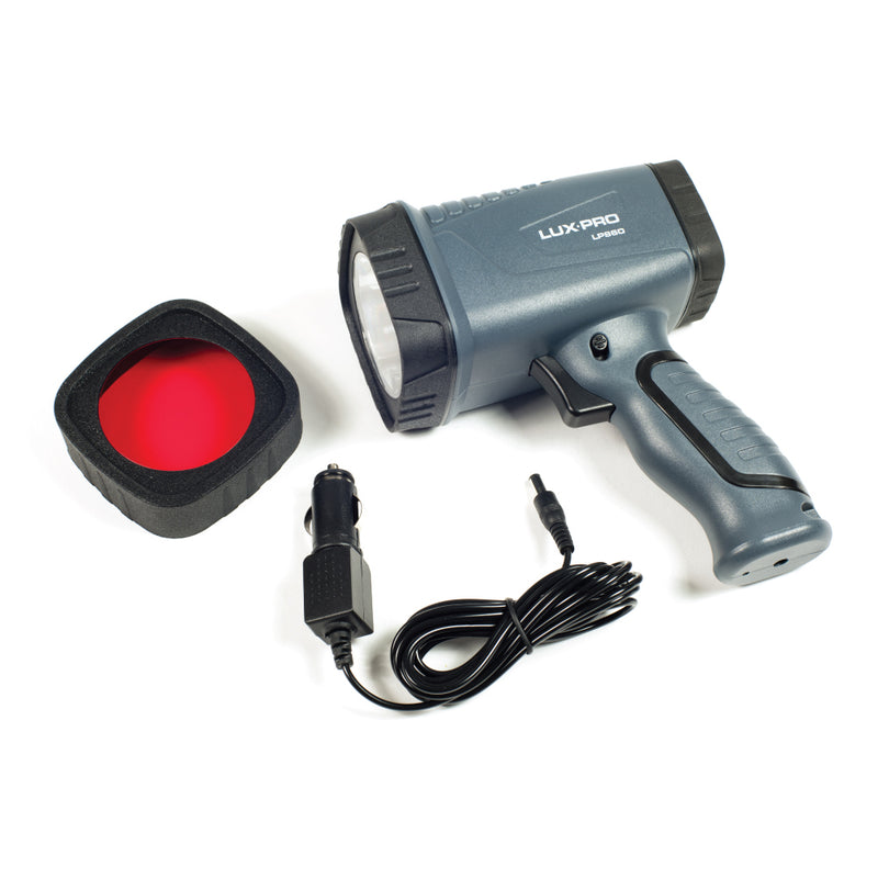 Rugged 330 Lumen LED Spotlight w Red Lens