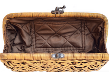 Load image into Gallery viewer, Rattan Clutch Bali White