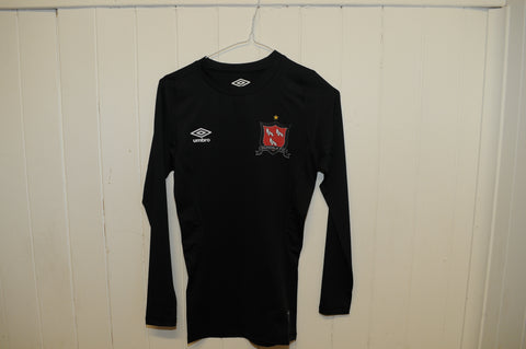 Dundalk FC Junior Black Core Long Sleeve Base Layer