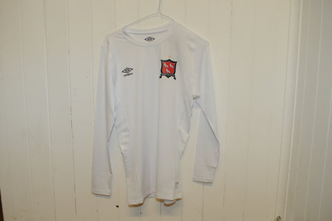 Dundalk FC Junior White Core Long Sleeve Base Layer