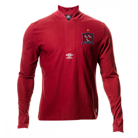Dundalk FC | Mid-Layer Half-Zip Drill Top - Red
