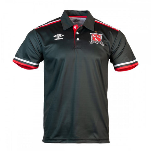 Dundalk FC Gunmetal Travel Polo 2021