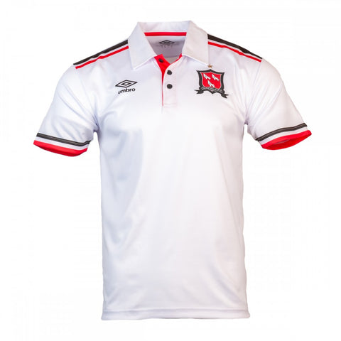 Dundalk FC White Travel Polo 2021