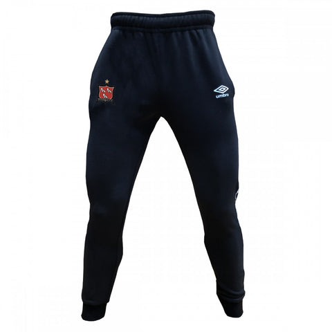 Dundalk FC | Taped Jogger Pants - Black/White