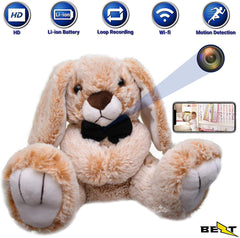 Plush Toy Hidden Camera - HD 4K - Easy WiFi Setup