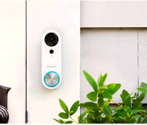 Smart Video Doorbell - Night Vision and Motion Detection - HD 1080P