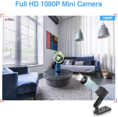 Mini Hidden Camera on Magnet - Motion Detection - Full HD 1080P - Easy WiFi Setup