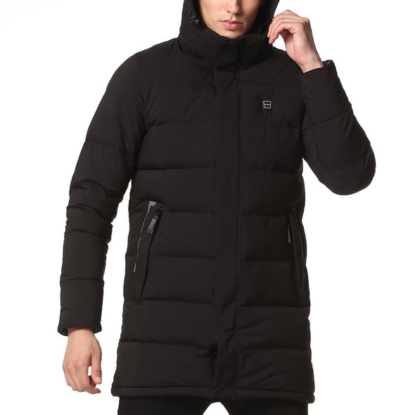 men's black-heated-jacket