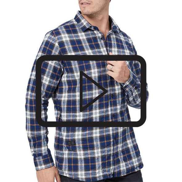 Double Control Smart Heated Shirt for Men - Snowwolf Wear