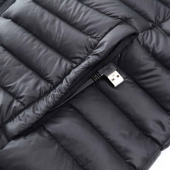 Female Double Control Heated Duck Down Jacket - Snowwolf Wear