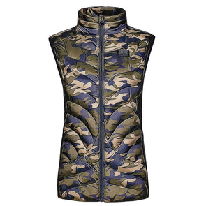 Female Flame Double Control Heated Vest - Snowwolf Wear