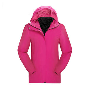 Female Flame II Smart Heated Outdoor Windbreaker - Snowwolf Wear