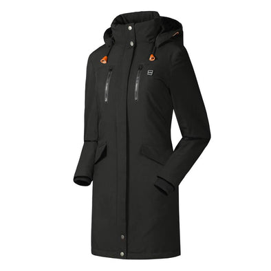 Female Luxurious Heated Jacket - Snowwolf Wear