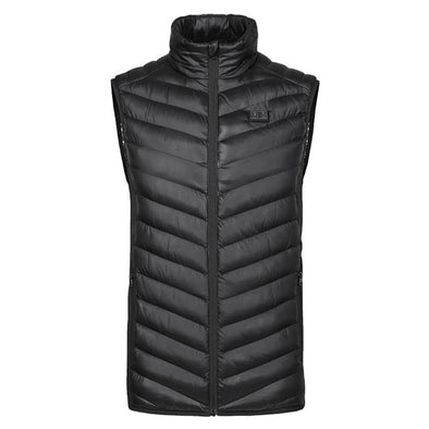 Male flame Double Control Heated Vest - Snowwolf Wear