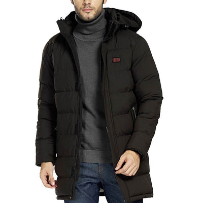 Male Flame II Double Control Heated Jacket - Snowwolf Wear