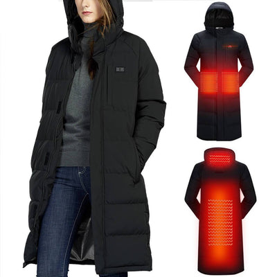 Unisex Double Control Heated Jacket - Snowwolf Wear
