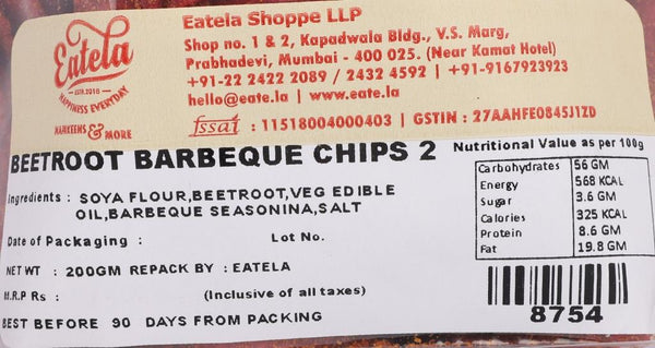 Beetroot Barbeque Chips