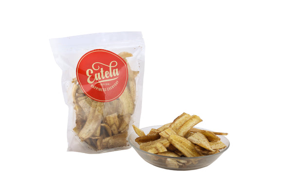 Delicious and Crunchy Thin Banana  Wafers  By Eatela