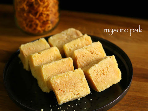 Sweet and Mouth-Watering Masoor Pak By Eatela