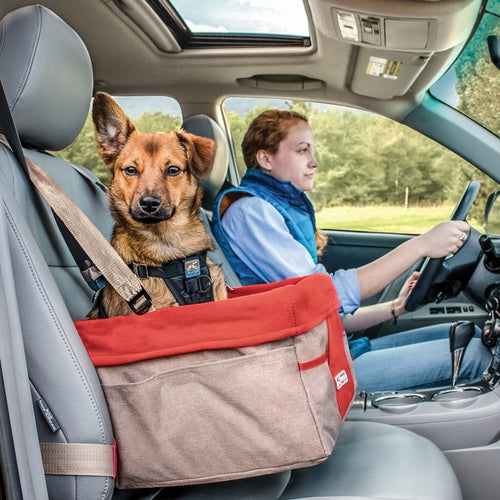 Heather Dog Booster Seat red