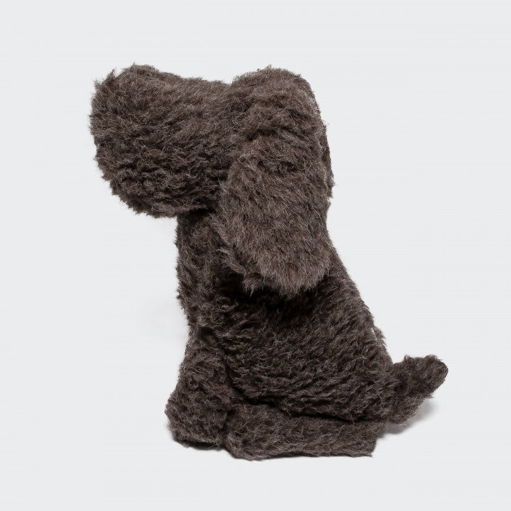 Deko Hund Johan Wool Brown