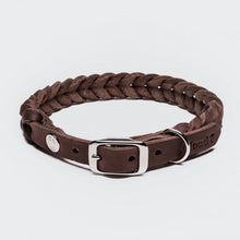Laden Sie das Bild in den Galerie-Viewer, Halsband Central Park Saddle Brown