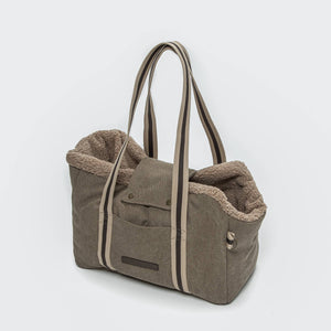 Hundetasche Lucca Canvas Sand