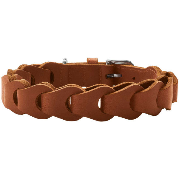 Halsband Solid Education Chain  cognac