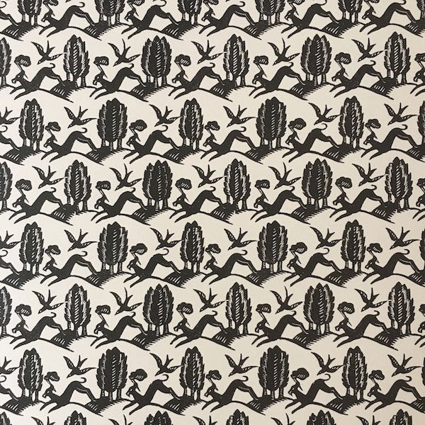 Patterned Paper -Ditchling Hound