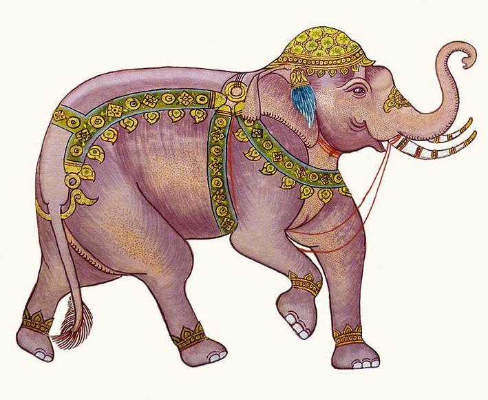 Card - 'The King's Elephant'