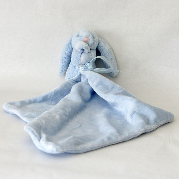 Jellycat Bunny Baby Soother (blue)
